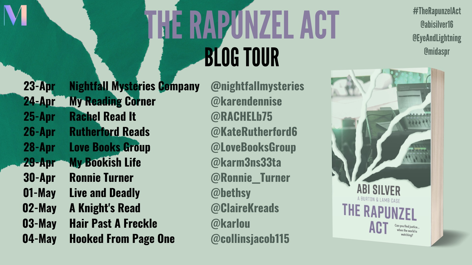 The Rapunzel Act Blog Tour Banner (2)